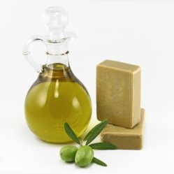 olive oil and soap