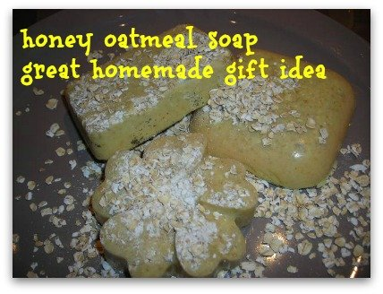 oatmeal and orange soap wonderful gift idea for friends and family