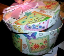 pretty box for homemade soaps